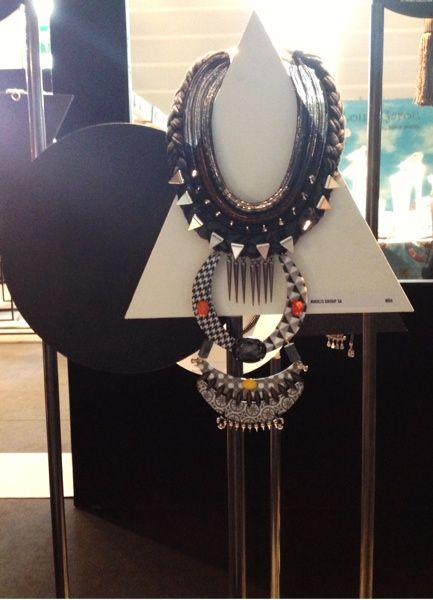 Bijorcha Paris September 2014 - Nikolis Group Necklace