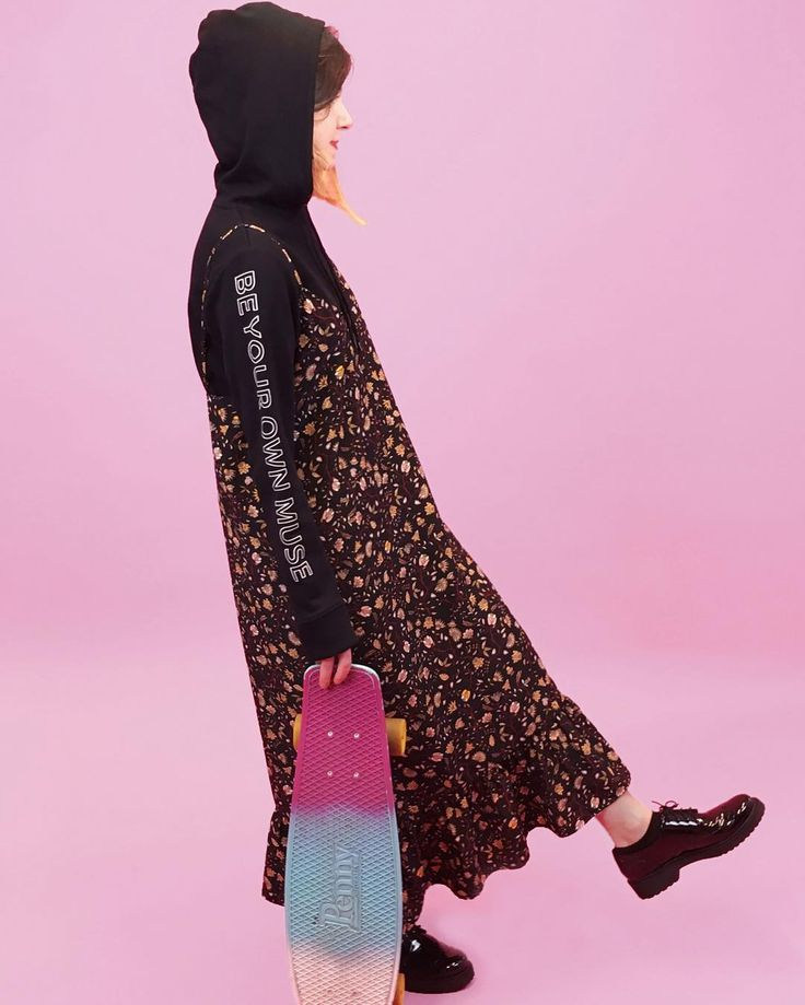 Do what your hoodie says & be your own muse. #monkistyle