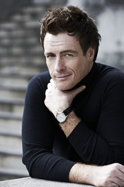Toby Stephens; sometimes it's not a pretty face but a double-lined smile that hits you