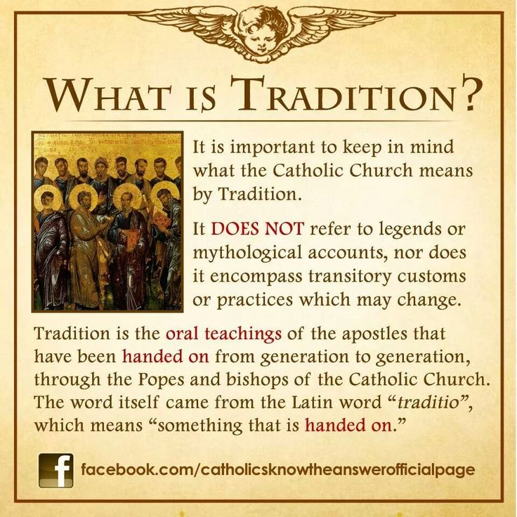 Tradition of the Church