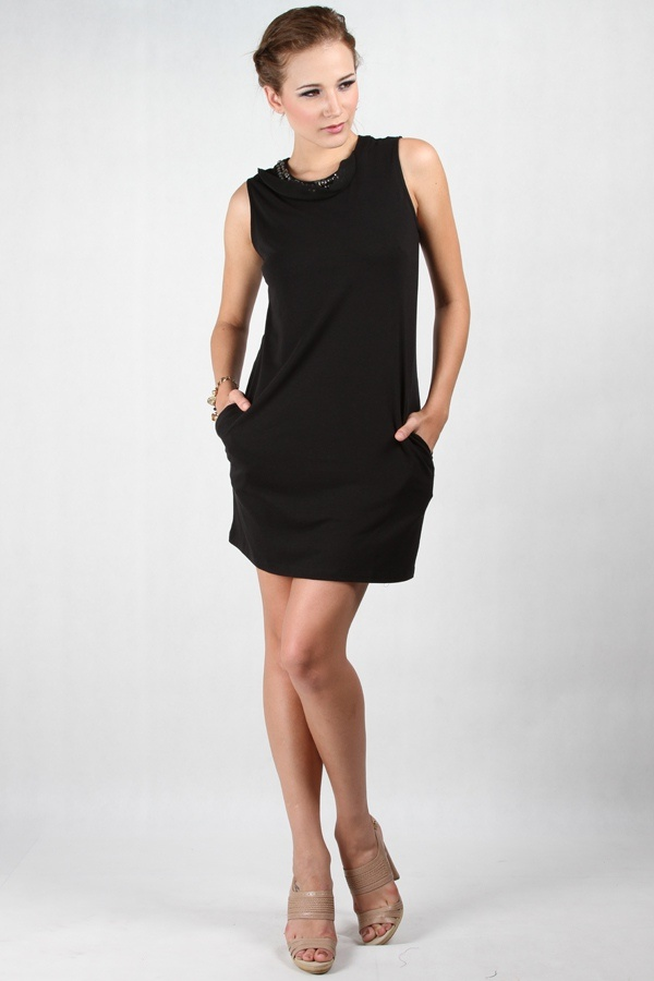 Regina Dress Black www.pinkemma.com