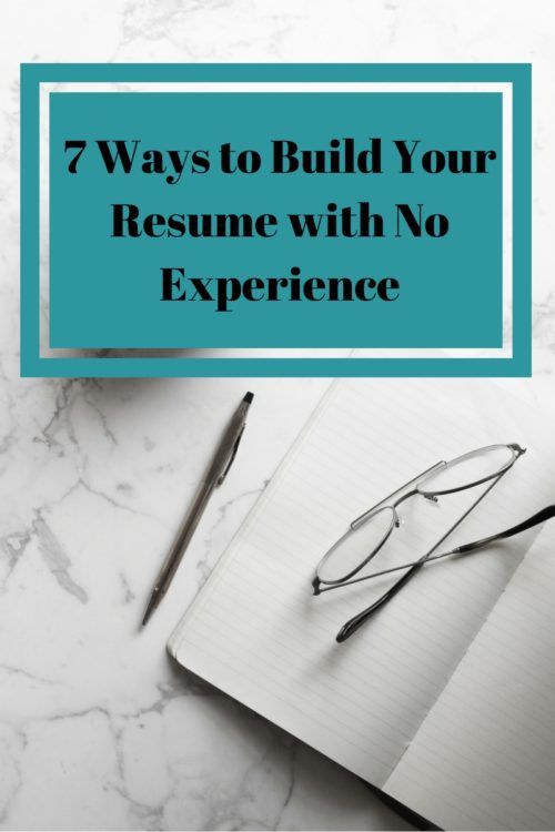 25+ beste ideeën over Resume with no experience op Pinterest - resume with no job experience