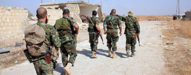 Syrian army, allies advance near Aleppo with Russian cover. (AFP)