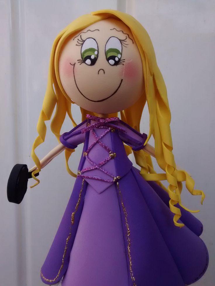 Fofucha Princesa Rapunzel