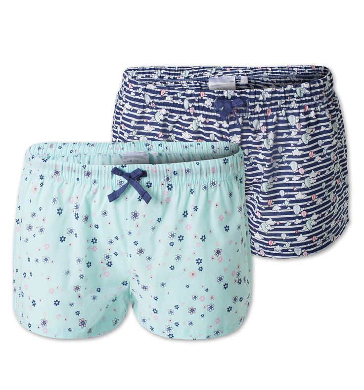 Pantalon de pyjama dans turquoise clair