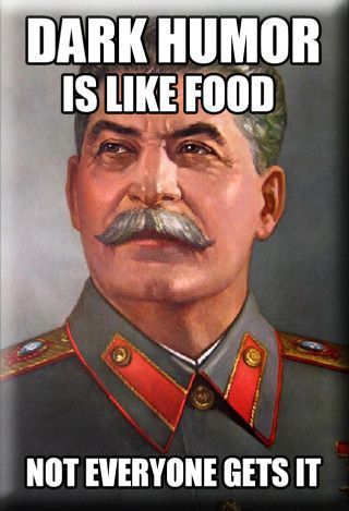 Damn, straight in with the gulag jokes
