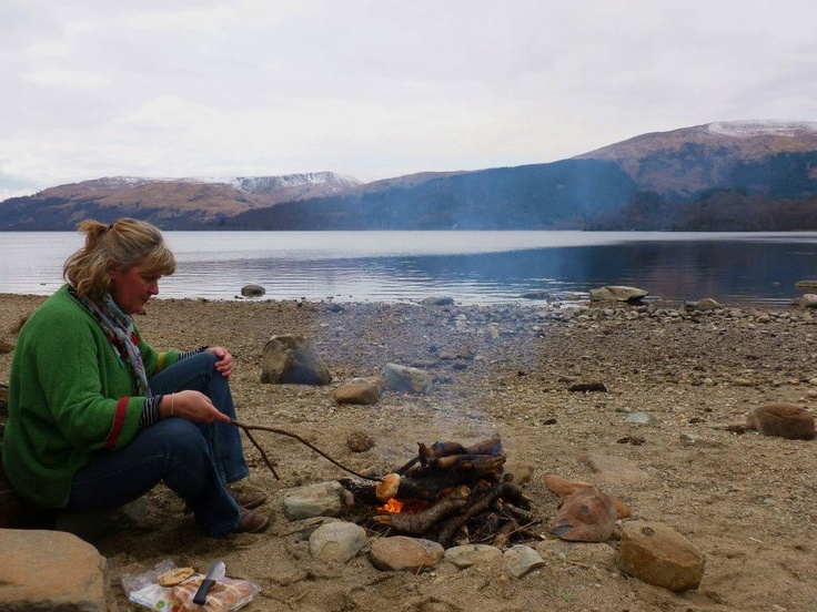 Louise Scott - In Her Element.  Louise reflects on the importance of time in the elements.