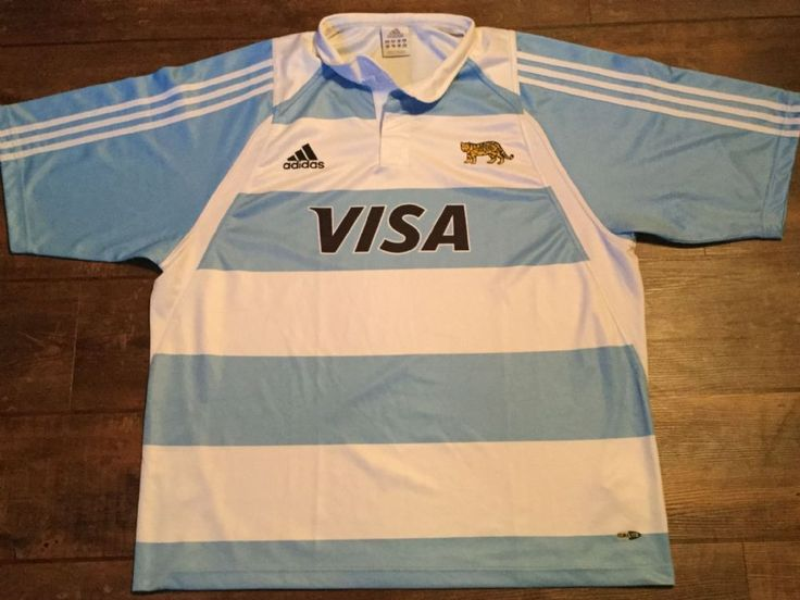 Argentina Rugby Shirt from 2004 2005 Los Pumas