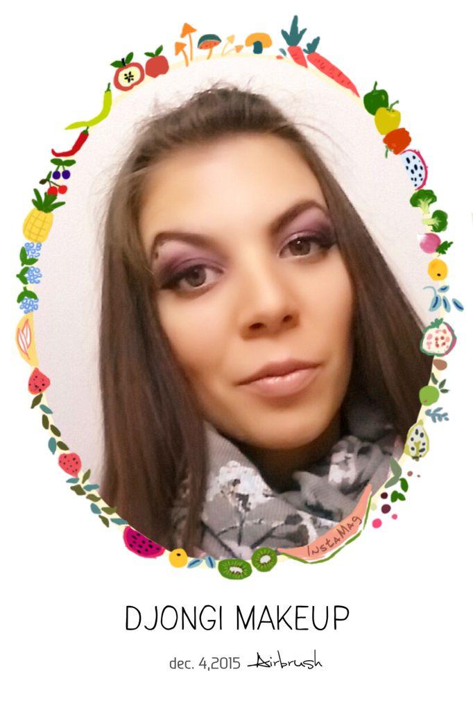 Airbrush makeup! Follow Djongi makeup on Facebook too! #picoftheday #bestpic #airbrushmakeup #airbrush #makeup #makeuppro #makeupaddict #djongi #djongimakeup #coolmakeup #sfx #sfxartist #makeupartist #makeupartistworldwide #temptuairbrush #budapest