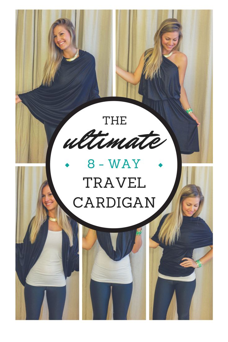 The Ultimate 8-Way Travel Cardigan (+ GIVEAWAY!!!)
