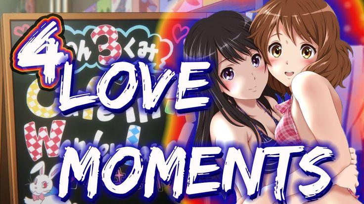 REINA Y KUMIKO  LOVE MOMENTS 4【 SUBTITULOS ESPAÑOL】