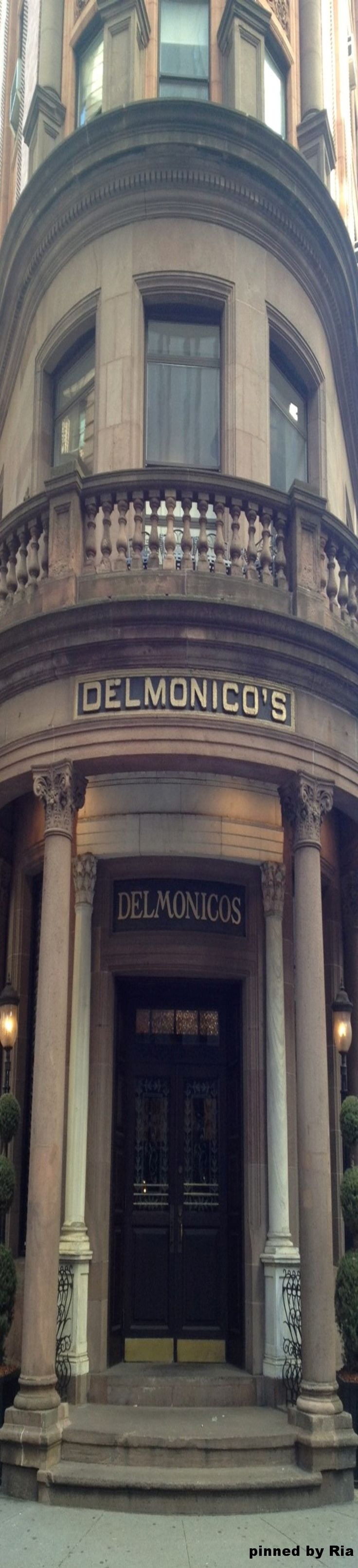DELMONICO`S STEAKHOUSE , NEW YORK CITY, Est. 1837 l Ria