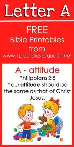 Free Bible Verse Printables ~ Letter A {Raising Lil Rock Stars} www.1plus1plus1equals1.net