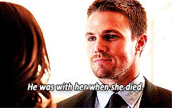 Arrow honor thy father oliver and thea queen stephen amell willa holland gif (16)