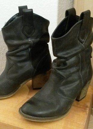 Kaufe meinen Artikel bei #Kleiderkreisel http://www.kleiderkreisel.de/damenschuhe/stiefel/138547450-bullboxer-stiefel-dunkelblau-in-cowboystiefel-optik