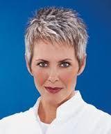 Bildergebnis für cool short grey hair