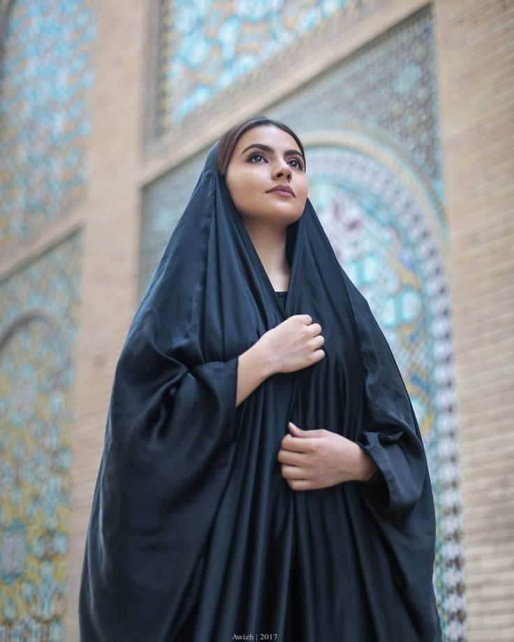 Moon hijab girl iranian winters mother and