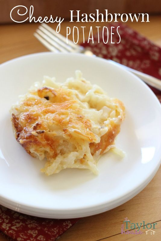 Cheesy Hashbrown Potatoes & Easter Dinner with HoneyBaked Ham #HoneyBakedEaster