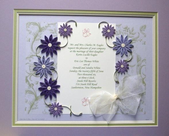 1000 Ideas About Wedding Invitation Keepsake On Pinterest: 15 Best Wedding Invitations Framed Keepsake Images On