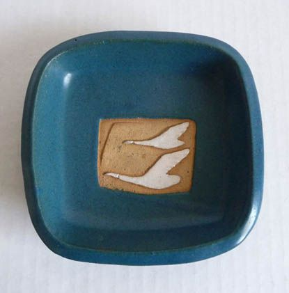 Snowbird Dish (1964) by Ceramic Arts Calgary - Unknown