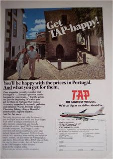 get tap-happy! you'll be happy with the prices in portugal. and what you get for them. tap the airline of portugal we're as big as an airlin...