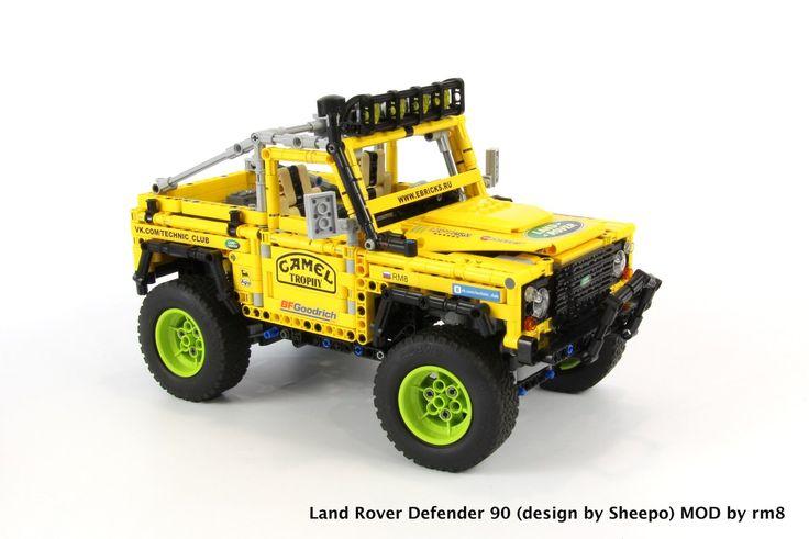 1145 best lego technic modelle images on pinterest lego. Black Bedroom Furniture Sets. Home Design Ideas