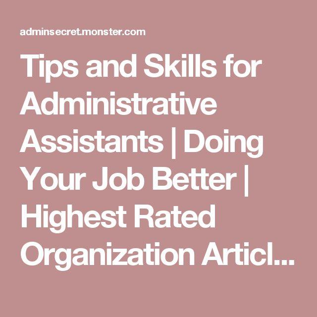 25+ best ideas about Administrative assistant jobs on Pinterest - assistant director job description