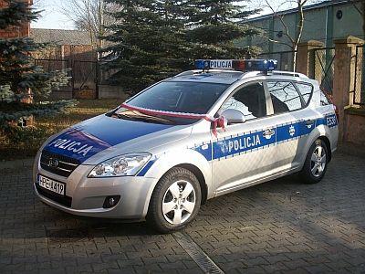 Nowe Miasto Lub., Giżycko: Nowe radiowozy na drogach powiatów :: Dziennik Eko-MazuryTV