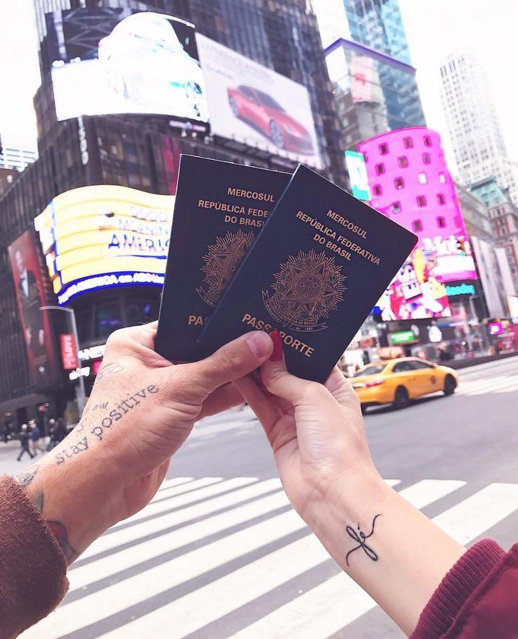 CHEGUEI EM NEW YORK