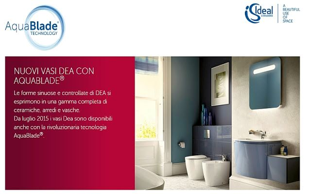 CASA, ARREDAMENTO E BRICOLAGE: Scegli Ideal Standard Italia ed avrai design, qual...