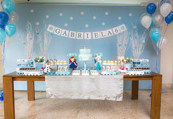 Festa infantil: Frozen - Bebê.com.br