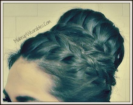How to:Never-Ending, French Braid Sock Bun on Your Own Hair
