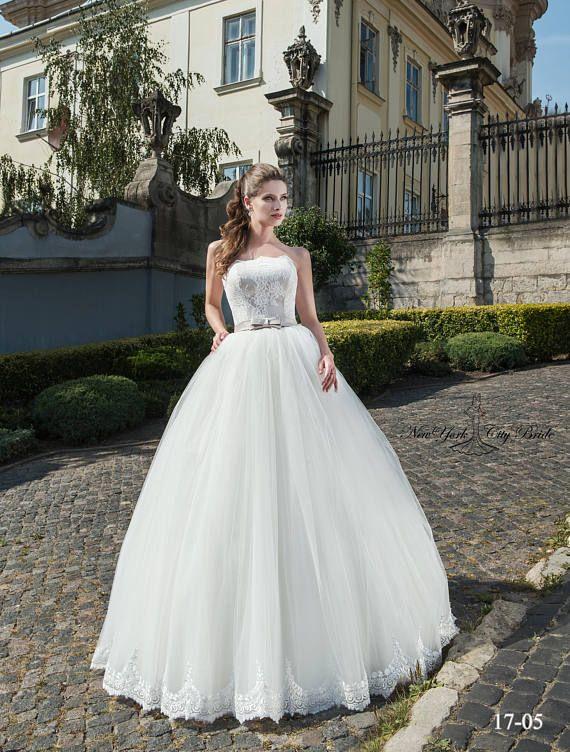 ac3b3c785b Wedding dress Bridal gown princess style Pam from NYC Bride