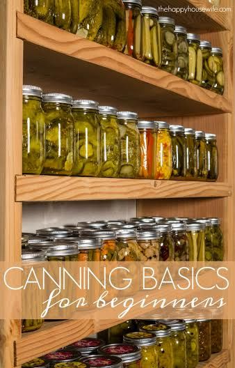 Canning gives you the option to preserve foods when they are in season. Here are basic canning tips to help you get started if you are new to�