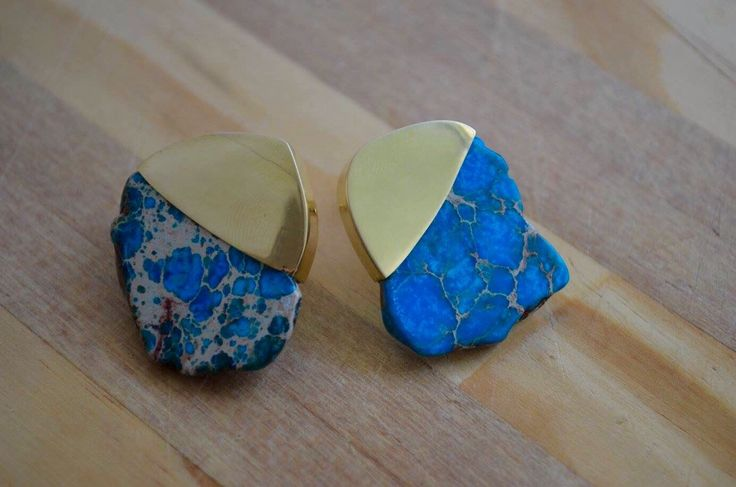A personal favourite from my Etsy shop https://www.etsy.com/au/listing/269133269/turquoise-stone-gold-plated-stud-earings
