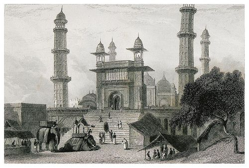 005-Mezquita en Madras-The oriental annual, or scenes in India..1835- William Daniell-© Universitätsbibliothek Heidelberg