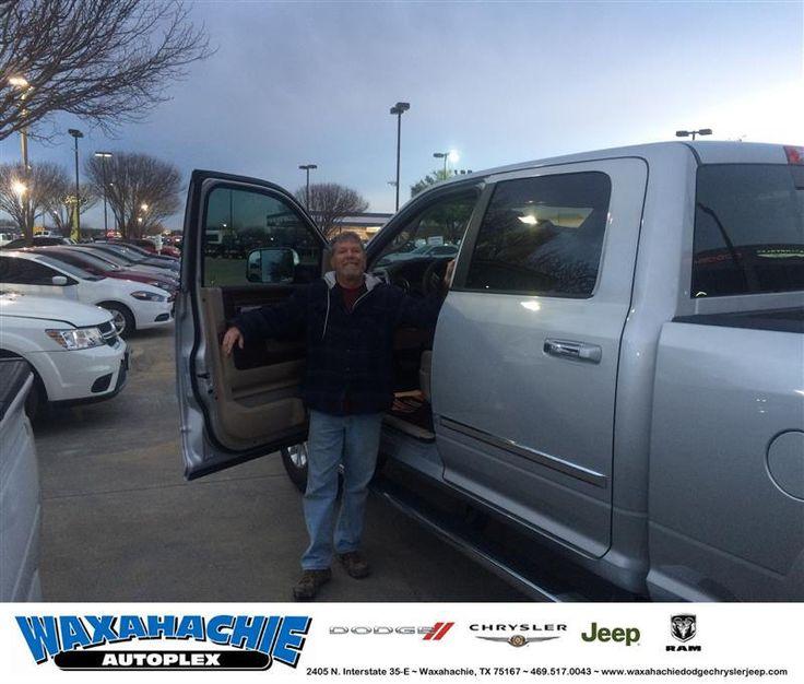 https://flic.kr/p/QhcDgL   Happy Anniversary to Joycie on your #Ram #2500 from Nicholas Allison at Waxahachie Dodge Chrysler Jeep!   deliverymaxx.com/DealerReviews.aspx?DealerCode=F068