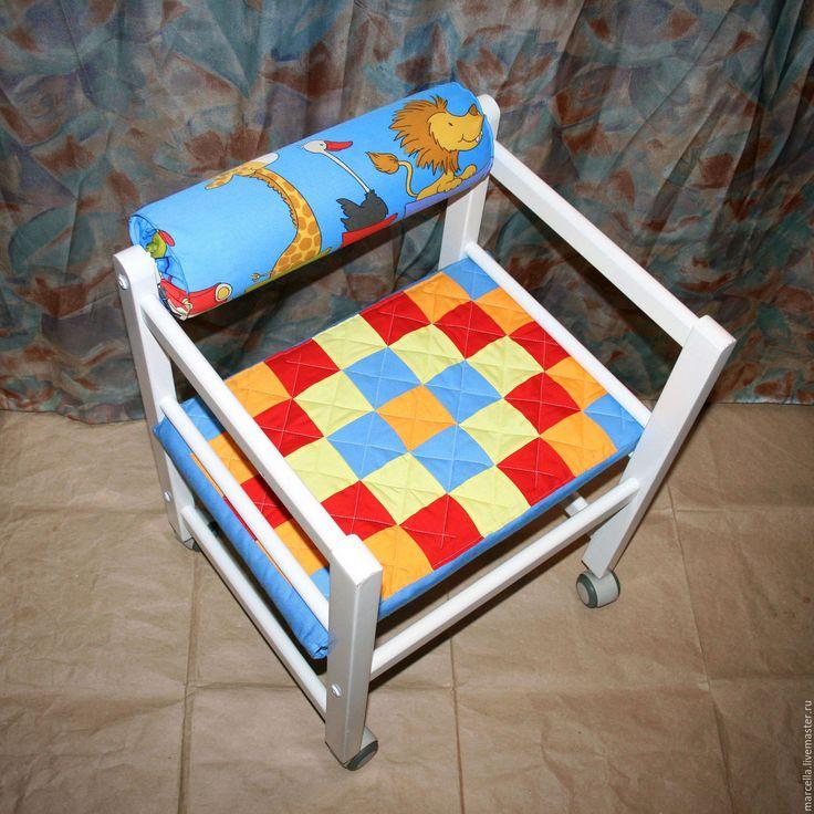 Купить Чехлы на детские стулья - чехол, чехлы на стулья, чехлы на мебель, печворк, Квилтинг и пэчворк