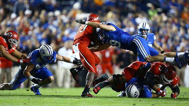 BYUtv Sports Blog | Logan's Corner: BYU defense pros and cons. Really good analysis of the defense during the BYU vs. Utah game.