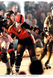 Blood on the Flat Track: The Rise of the Rat City Rollergirls Poster  #homework