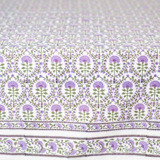 Bungalow - BLOCK-PRINT TEXTILES - tablecloths