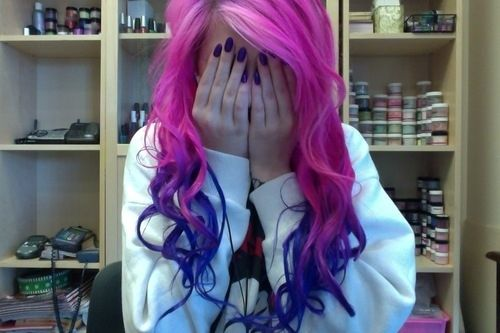 6. Dip dyed   Community Post: The 7 Coolest Ways To Dye Your Hair