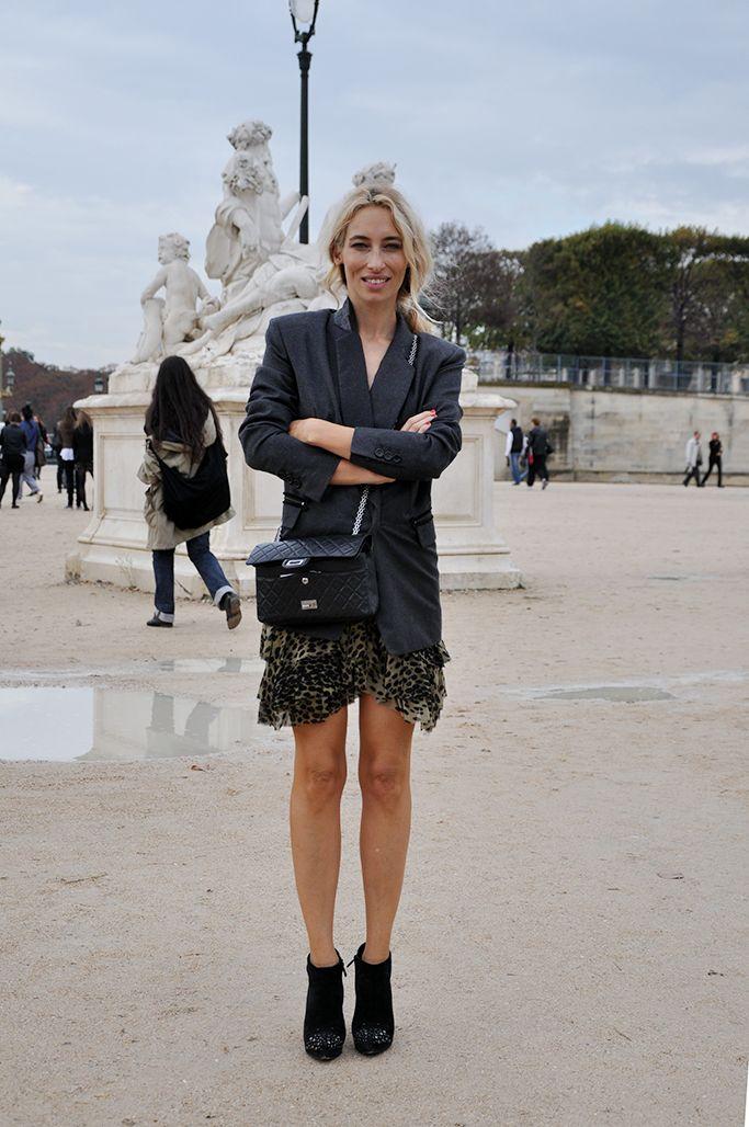 Alexandra Golovanoff in Paris