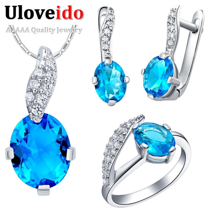 Find More Jewelry Sets Information about Leaf Cheap Fashion Jewelry Sets Blue Ring Crystal Earrings Bijuterias Purple Necklace for Women Red Jewellery 2015 Ulove T222,High Quality necklace bat,China necklace material Suppliers, Cheap necklace bull from ULOVE Fashion Jewelry on Aliexpress.com
