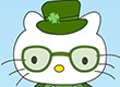 St. Patricks Day Hello Kitty | Dress up games | Games for Girls | Monster High Games | Makeover games
