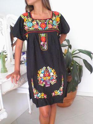 b5fcabc7ef6802 nosotros amamos los vestidos mexicanos: os lindos vestidos chegaram ...