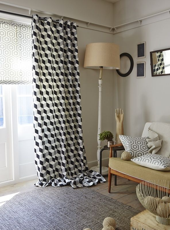Superior A Striking Feel, By Consists Of 6 Designs, Namely Chevron Stripes,  Hexagons, Cubes And Abstracts.