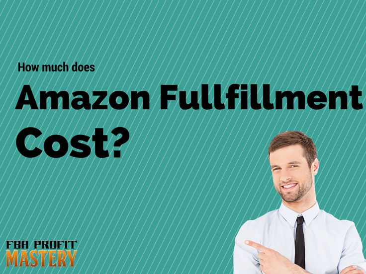 How Much Does Fulfillment by Amazon (FBA) Cost?