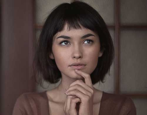 20 Short Bobbed Haircuts   Bob Hairstyles 2015 - Short Hairstyles for Women