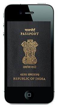 the given post-up gives brief description about how to track passport status online or via mobile